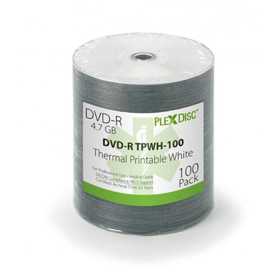 PLEXDISC medical Dvd 4,7 Gb thermal printable