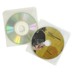 Transparent sleeve for 8 cm disc