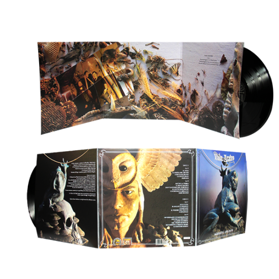 "12"" LP Gatefold 6 panels"