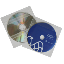 Transparent sleeve for 12 cm disc