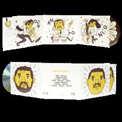 Digifile 3 ante con 2 tasche per CD e libretto