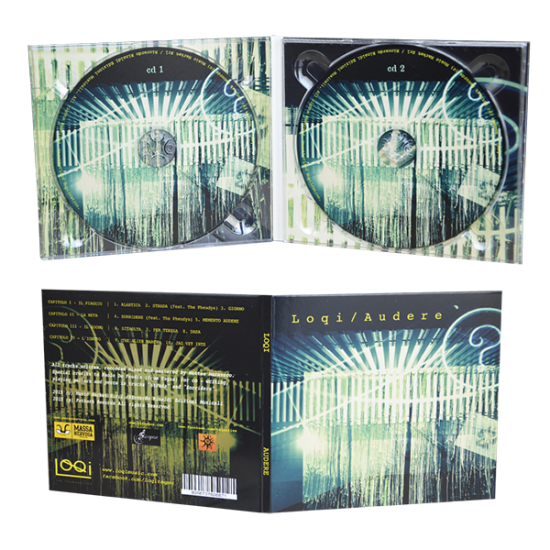 Digipack 4 panels with 2 tray