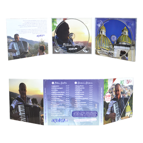 Digipack 6 panels with 2 tray