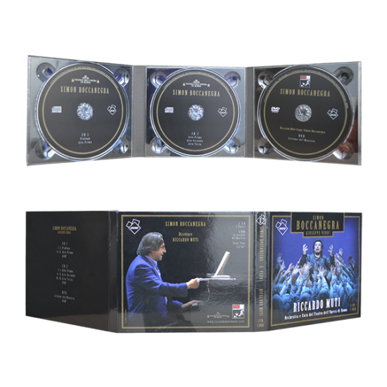 Digipack 6 panels with 3 tray