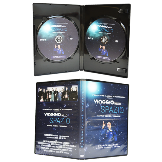 Dvd box for 2 DVDs