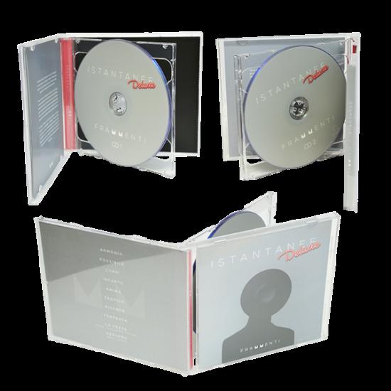 Jewel box for 2 cds