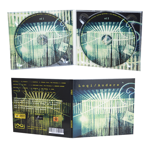 digipack 4 panels with 2 trays